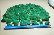 750-ct Beautiful Natural Color Emerald Crystal Rough Lot From Panshir Afghan