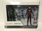 Dc Collectibles Tv Arrow And The Flash Action Figure 2 Pack