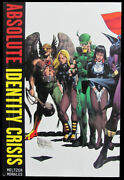 Brad Meltzer, Rags Morales / Absolute Identity Crisis 1st Edition 2011
