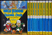Don Rosa Library Complete 10 Volume Set Signed And With Original Art 1st Ed 2010
