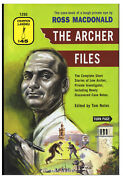 Ross Macdonald / Archer Files The Complete Short Stories Of Lew Signed 1st 2007