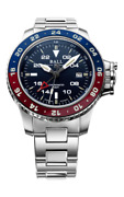 New Ball Engineer Hyrdocarbon Aero Gmt Ii Blue And Red Bezel Dg2018c-s9c-be