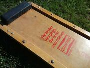 Vintage Champion Spark Plugandnbsp Advertising Wooden Car Crawler Creeper 60and039s-70and039s