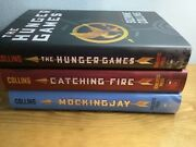 The Hunger Games Trilogy By Suzanne Collins Hc 1st Edition Catching Fire Mocking