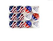4th Of July Decorations Outdoor Ball Ornaments American Flag Hanging Shatterpro