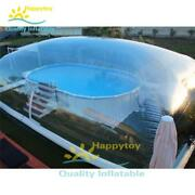 Durable Pvc Swimming Pool Cover Tents Inflatable Lap Pool Transparent Dome Tent
