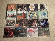 E-40 Signed Huge Lot Of 18 Cd Albums Collection Signed On Cover Insert And Cds