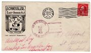 1925 Airship Uss Los Angeles New York Ny To St Georges Bermuda - Roessler
