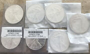 Lot Of Seven 7 2014 Silver American Eagles.apmex Packaging. Free Shipping.
