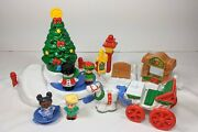 Fisher Price Little People Tree Lighting In Discovery Park With Box