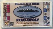 Us Dept Of The Interior Bureau Of Reclamation Phoenix Office Pxao-opoly Game