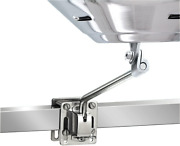 Boat Parts Square Flat Rail Mount For Marine Kettle Grill Side Bulkhead Durable