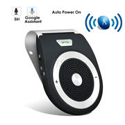 Auto Bluetooth Wireless Handsfree Speaker Phone In-car Devices Kit W/ Micandcar Us