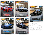 Hot Wheels 2020 Premium Fast And Furious Full Force - Pick And Choose
