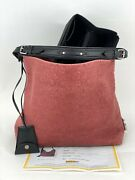 Louis Vuitton Red Burgundy Monogram Leather Antheia Hobo Pm Tote Hand Bag A774