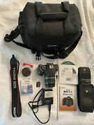 Canon Eos T3i Dslr Camera With 18-55mm Is Lens Accessory Bundle +box