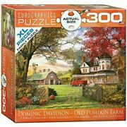 Eurographics Puzzle 1000 Pieces Old Pumpkin Farm By Dominic Davidson Barn Fall