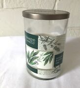 Yankee Candle 22 Oz Lavender And White Sage 2 Wick Burner Extremely Rare