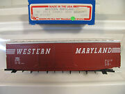 Ho E And C Shops 0305 Western Maryland 31057 50and039 Ps-1 Dd Box Freight Car Kit