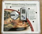 Oregon Scientific Aw129 Wireless Bbq Thermometer Lcd Remote Programmable New