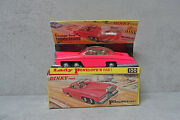 Dinky Toy No.100 Lady Penelopeand039s Fab 1 Fluorescent Pink Issue Vnm Boxed Rare