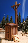 G Scale Train Signal Shack Building For Use W Lgb Accucraft Mth Rr Track And Locos