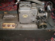 Movie Projector Professional Ampro Century 10 - 16mm Working Con Need Ac As Is