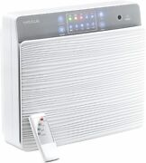 Air Purifier, Wall Mounted, Dual Use On Desk, Ion Generator, Uv Light