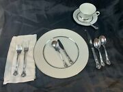 Chantilly Gorham Sterling Silver Dinner Flatware Set For 8 Service 42 Pieces 779