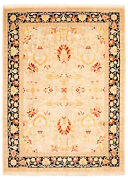 Vintage Hand-knotted Carpet 9and0391 X 12and0393 Traditional Geometric Wool Area Rug