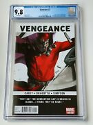 Vengeance 1 Cgc 9.8 Dell Otto Cover 1st Appearance America Chavez Nm+