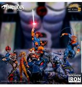 Thundercats Iron Studios Complete Set Of 5 Statues Sold Out New