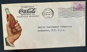 1934 Starville Ms Usa Advertising Cover To Rochester Coca Cola Bottling Co