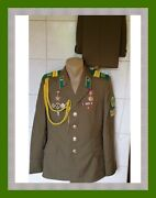 Soviet Military Dress Uniform Of A Sergeant Of The Air Force Of The Kgb Of The U