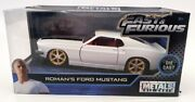 Jada Fast And Furious 1/32 Scale 99517 - Roman's Ford Mustang - White