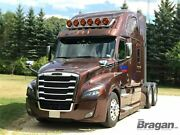To Fit Western Star 5700xe Steel Tapered Roof Front Bar + Led Spots Lamps X6