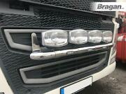 To Fit Volvo Fh4 2013+ Grill Bar Stainless Steel Front Lamp + Leds + Led Spots