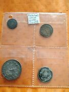 Netherland Coin Bundle 1,10,25 Cent Anda1955 Guilder Silver Coins
