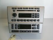 03-06 Lincoln Ls Radio Stereo Receiver 6disc Climate Control Warranty Oem Silver