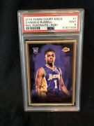 2015 D'angelo Russell Panini Court Kings 1 Rookie Portraits Ruby /100 Psa 9 A88
