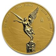 Libertad Andndash Mexico Andndash 2018 1/2 Oz Reverse Proof Gold Coin In Capsule