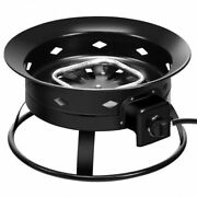 58 000btu Firebowl Outdoor Portable Propane Gas Fire Pit With Cover And Carry K