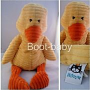 Jellycat J1140 'cordy Roy Duck' Retired Design 2010 Plush Pre Loved Collectable