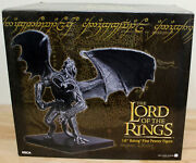 Neca The Lord Of The Rings 16 Balrog Fine Pewter Figure Hobbit Newbox Damage