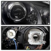 Spyder Auto 5080967 Drl Led Projector Headlights Fits 03-06 Cayenne