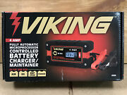 Viking Fully Automatic Microprocessor Controlled Battery Charger/maintainer