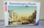 New Ravensburger Friedrich Nerly The Grand Canal Venice 3000 Piece Jigsaw Puzzle