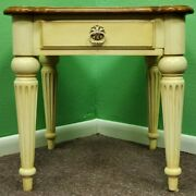 Ethan Allen Legacy Lamp End Side Table