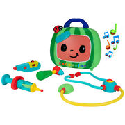 Cocomelon Official Feature Roleplay Musical Checkup Case 4pc With Sound