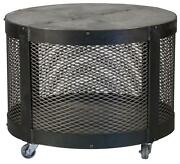 Colby Cocktail Side Table Cold-rolled Steel Galvanized Tin